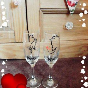 Bespoke Champagne Glasses