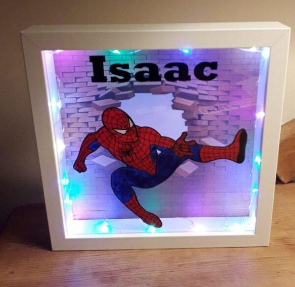 Bespoke Light Up Picture