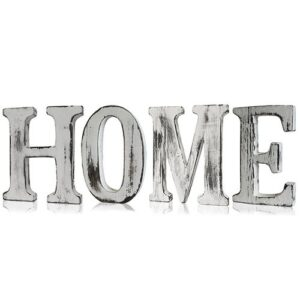 HOME Shabby Chic Wooden Letters