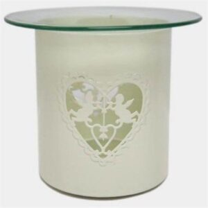 Embossed Cherub Cutout Oil Burner