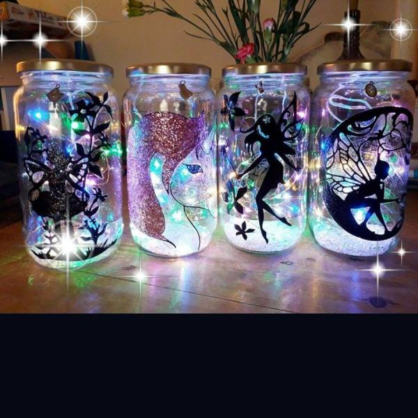 Bespoke Light Jars
