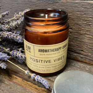 Positive Vibes Aromatherapy Candle