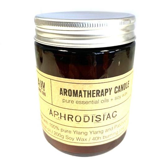 Soy Wax Natural Aromatherapy Candle - Aphrodisiac Ylang Ylang & Patchouli