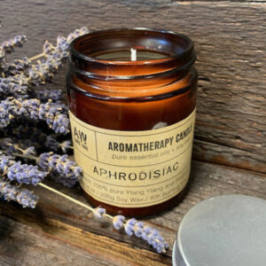 Soy Wax Natural Aromatherapy Candle - Aphrodisiac Ylang Ylang & Patchouli