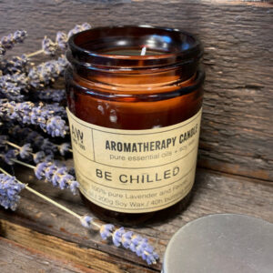 Soy Wax Natural Aromatherapy Candle - Be Chilled Lavender & Fennel