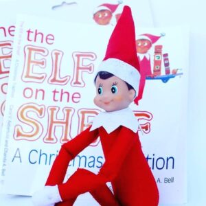 Naughty Elf & Book
