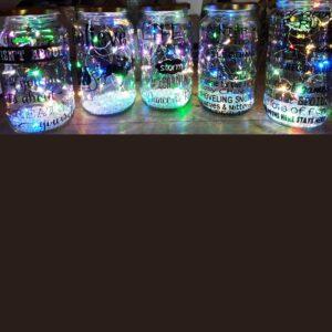 Bitsy Boutique Gift Shop Bespoke Light Jars