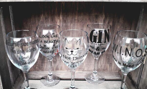 Bespoke Wine Glass