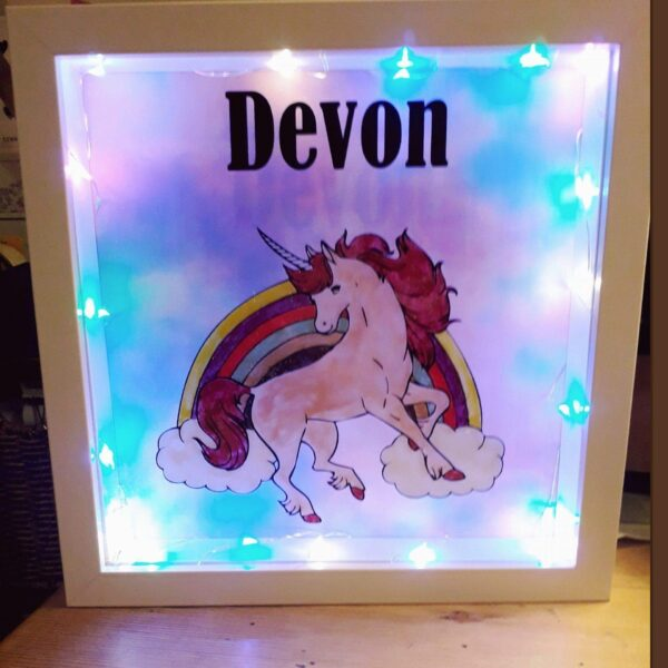 Bespoke Light Up Character Picture Frames