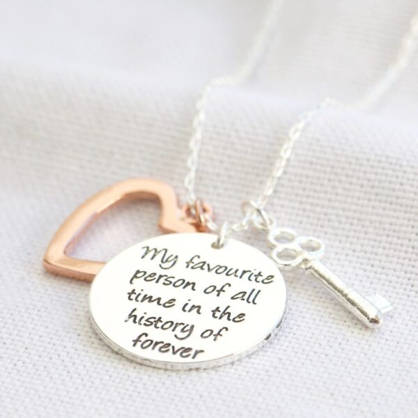 My Favourite Person Necklace