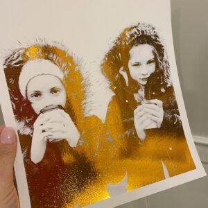 personalised print foil 2