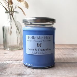 Peace & Tranquillity Candle – Rock Salt & Driftwood Scented