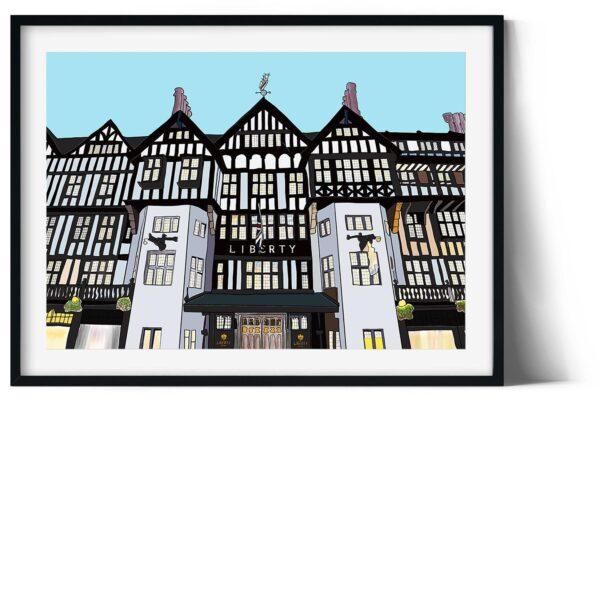 Liberty of london digital print