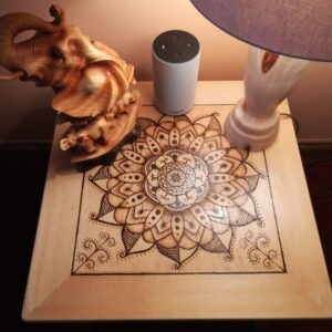 pyrography table